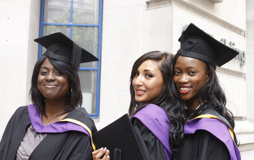 Graduating women