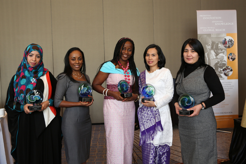 women with awards